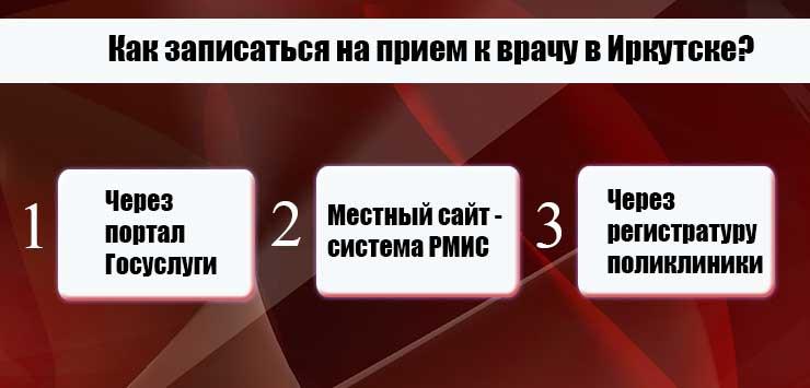 Запись к врачу через интернет Иркутск