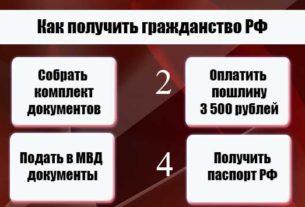 Заявление на гражданство РФ нового образца 2020 бланк скачать